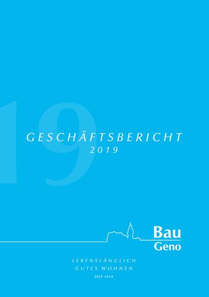 Bau Geno Geschäftsbericht 2019